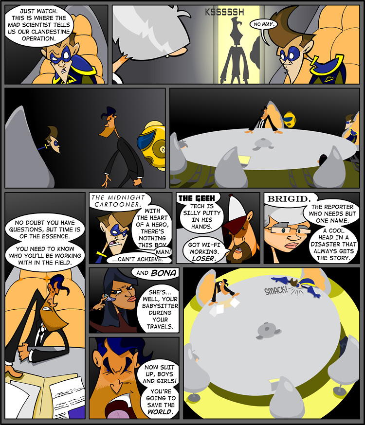 Episode 1, Page 2: Save the WORLD