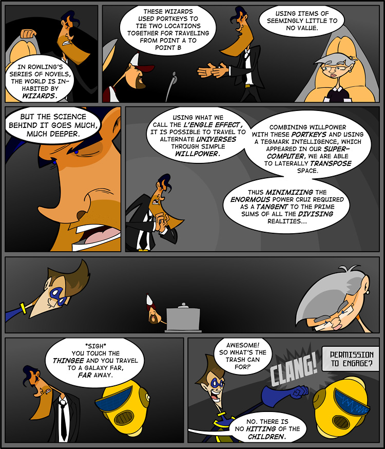 Episode 1, Page 4: The L'Engle Effect