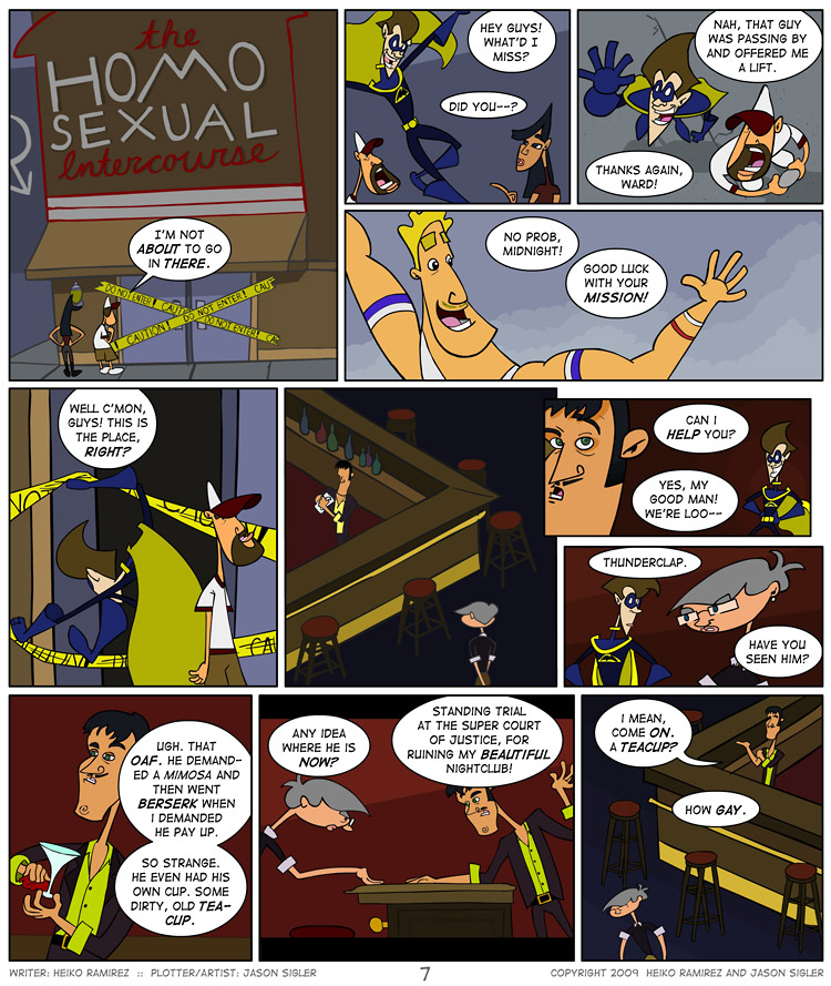 Episode 2, Page 7: Teacups ARE Gay