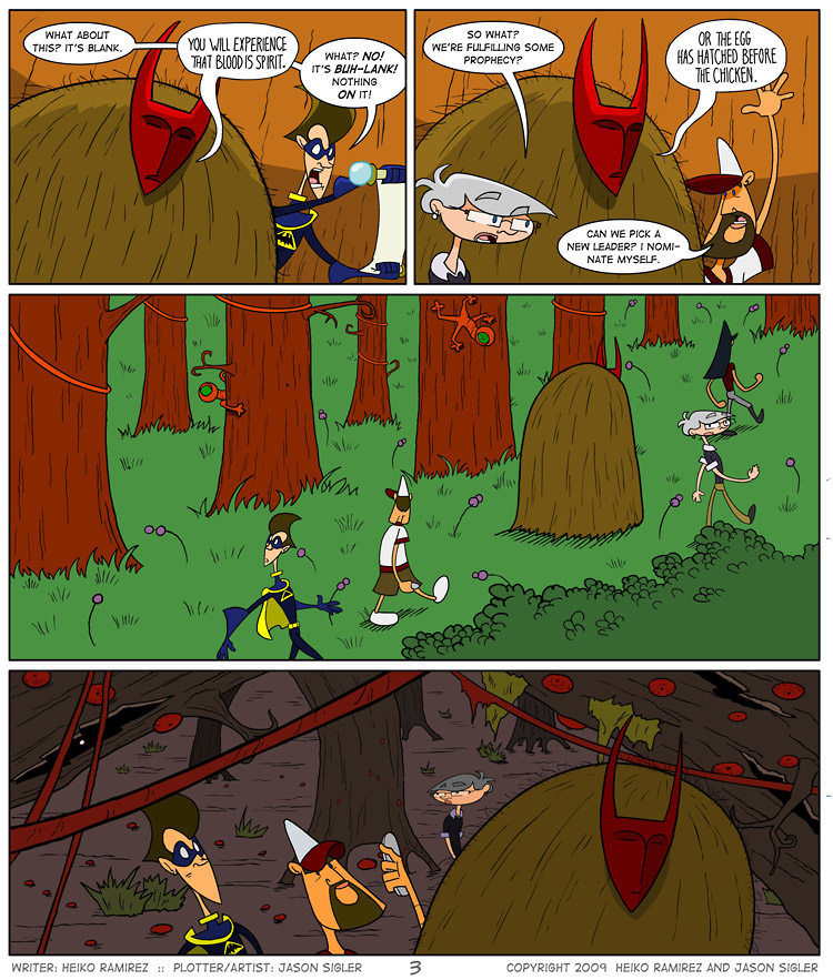 Episode 3, Page 3: We're Following The Leader, The Leader, The Leader