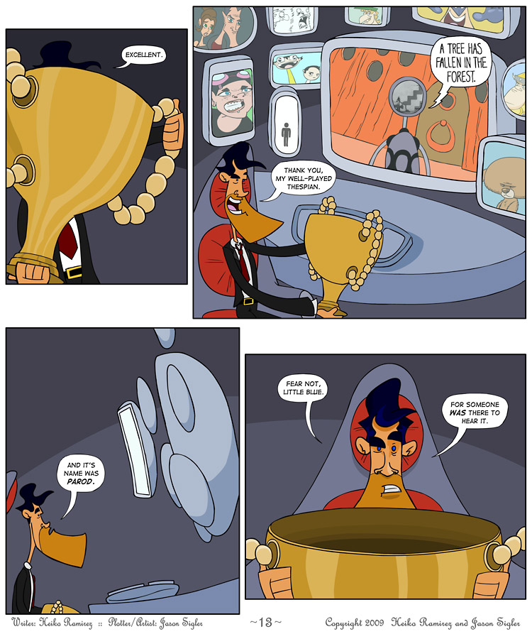 Episode 3, Page 13: Must Be A Sweeps Period…